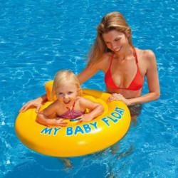 INTEX Bouee gonflable pour bébé piscine Culotte Baby Float