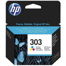 HP Pack de 3 cartouches d'encre 303 (T6N01AE) - Cyan, Magent