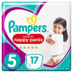 Pampers Premium Active Fit Pants Taille 5 11-18 kg - 17 Couc