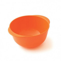 PLASTOREX Bol micro-ondable Polypropylene 35 CL Orange agrum 51500