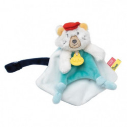 BABYNAT Doudou attache-sucette Paul