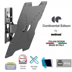 CONTINENTAL EDISON Support TV inclinable TV 22-40'' VESA 200