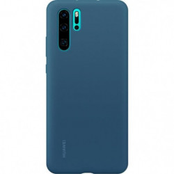 HUAWEI Coque rigide finition soft touch bleue Huawei pour P3