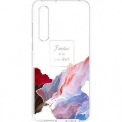 HUAWEI Coque rigide transparente Floating Fairyland Huawei p 62998
