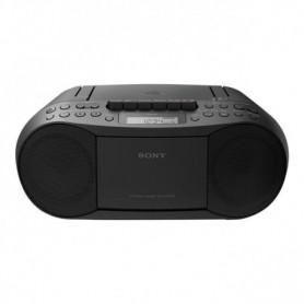 SONY - CFDS70B.CED - Boombox CD/Tuner /cassettes