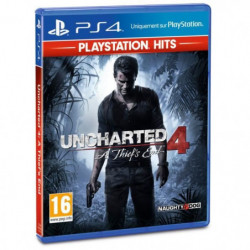 Uncharted 4 A Thief's End PlayStation Hits Jeu PS4