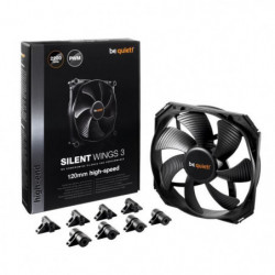 Be Quiet Ventilateur de boîtier SILENT WINGS 3 - PWM 120mm