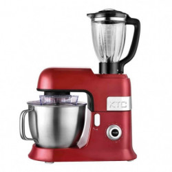 KITCHENCOOK - EXPERT_XL_RED - Robot Pétrin avec Blender - 6,