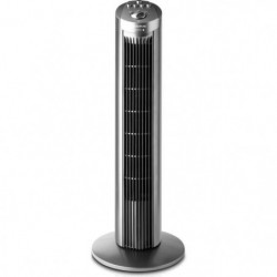 TAURUS BABEL Ventilateur colonne 45 watts - 3 vitesses - Gri