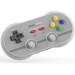 Manette Gamepad bluetooth grise 8Bitdo N30 Pro2 pour Switch