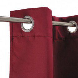 Rideau occultant Strong - 140 x 250 cm - Bordeaux
