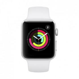 Apple Watch Series 3 GPS, 42mm Boîtier en aluminium