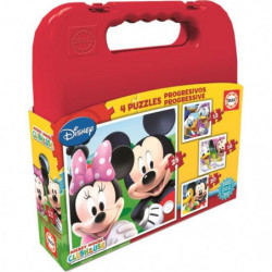 EDUCA - Malette Puzzles Progressifs MICKEY