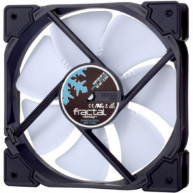 FRACTAL DESIGN Ventilateur PC Venturi HP-12 PWM Blanc - 120mm
