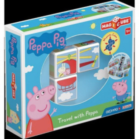 MAGICUBE - Peppa Pig voyage avec Peppa (3 cubes)
