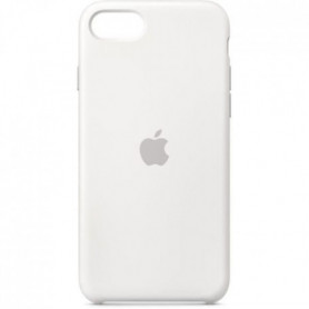 APPLE Coque pour iPhone SE Silicone - Blanc