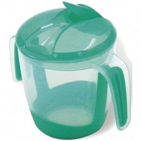 MILL'O BÉBÉ Tasse d'apprentissage à bec repliable - Vert - 22 cl