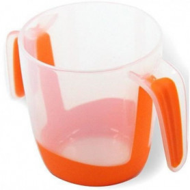 MILL'O BÉBÉ Tasse d'apprentissage à anses  - Orange - 22 cl