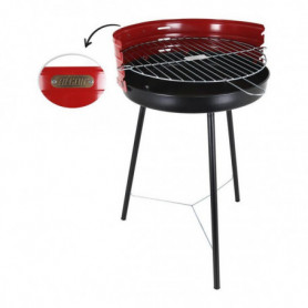 Barbecue Algon Ronde Rouge