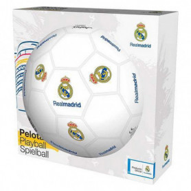 Ballon de Football Real Madrid C.F. (Ø 23 cm) Blanc