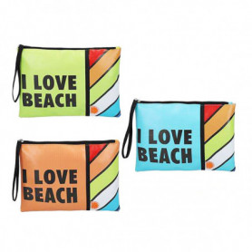 Trousse de toilette I Love Beach (27 x 20 x 0,5 cm)
