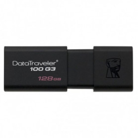 Clé USB Kingston DT100G3 128 GB Noir