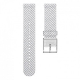 POLAR Bracelet interchangeable IGNITE Blanc chevron M/l
