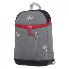 WANABEE Sac à dos isotherme Ice Walk 10L - Gris