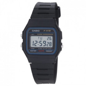 CASIO Montre Quartz F91W-1YER