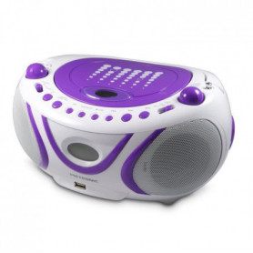 METRONIC Radio Cd-Mp3 - Pop Purple
