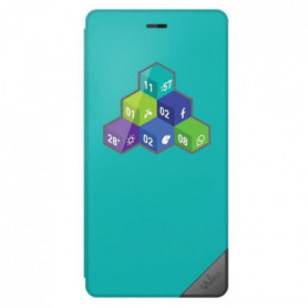 Wiko Folio Wicube Tommy  Bleen