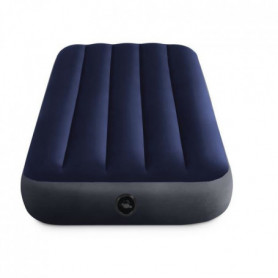 Intex - Matelas gonflable. camping. 137x 191 x 25 cm Downy Classic 2 Places