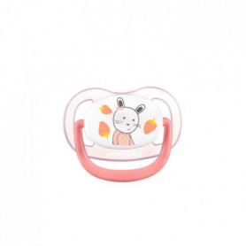 BEBE CONFORT 2 Sucettes Physio Air Confort Silicone 0/6 - Rose & Jaune - The Gar