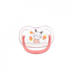 BEBE CONFORT 2 Sucettes Physio Air Confort Silicone  18/36 - Rose & Jaune - The