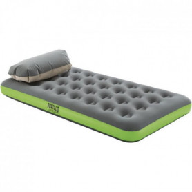 BESTWAY Matelas gonflable camping Pavillo - 1 place Roll & Relax - 188 x 99 x 22