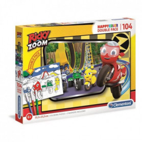 Clementoni - 25706 - Ricky Zoom - 104 pieces a colorier