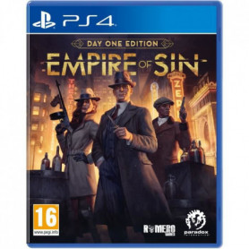 Empire Of Sin - Day One Edition Jeu PS4