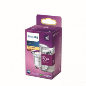 Philips Ampoule LED Equivalent50W GU10 Blanc chaud Non Dimmable