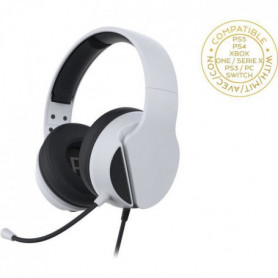 Subsonic - Casque Gaming Blanc avec micro pour PS5 - Compatible PS4/PS3/Xbox One