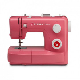 SINGER 43218 Machine a coudre SIMPLE 3223 - 70W - 23 points - Rouge