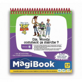 VTECH - MAGIBOOK - TOY STORY 4 - Dis Woody. Comment ça marche ?