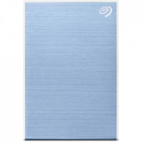 SEAGATE - Disque Dur Externe - One Touch HDD - 2To - USB 3.0 - Bleu (STKB2000402
