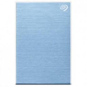 SEAGATE - Disque Dur Externe - One Touch HDD - 4To - USB 3.0 - Bleu (STKC4000402