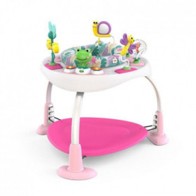BRIGHT STARTS Aire d'éveil Bounce Bounce Baby 2-in-1 Activity Jumper & Table -