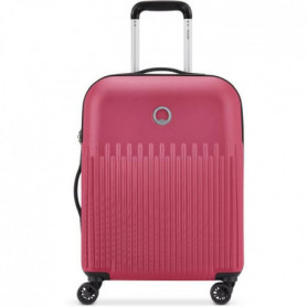 DELSEY Valise Cabine Lima Trolley Slim 55 Cm 4  Doubles Roues Rose